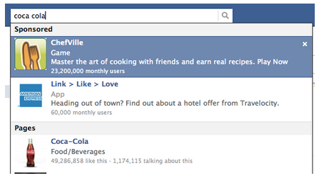 Risultati sponsorizzati di Facebook #3