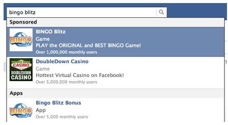 Risultati sponsorizzati di Facebook #4