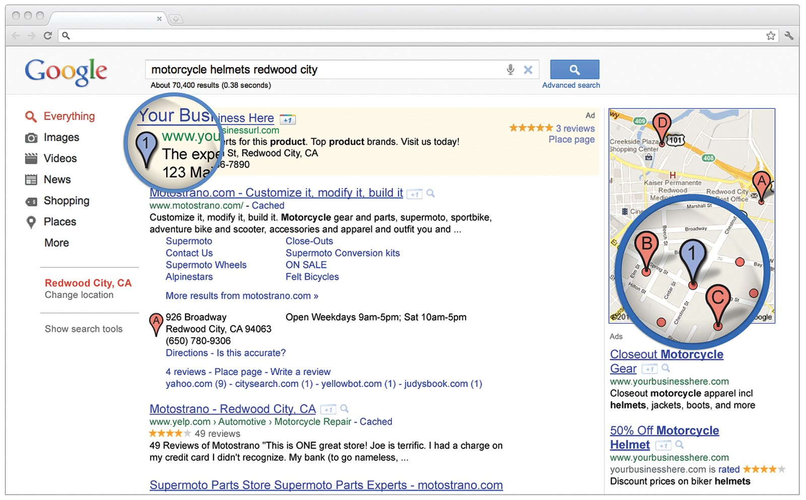 AdWords Express - Annunci Search