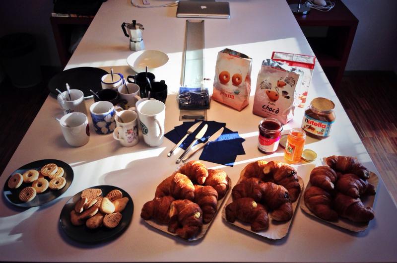 La prima #colazionedamoca. Ecco com'è andata.