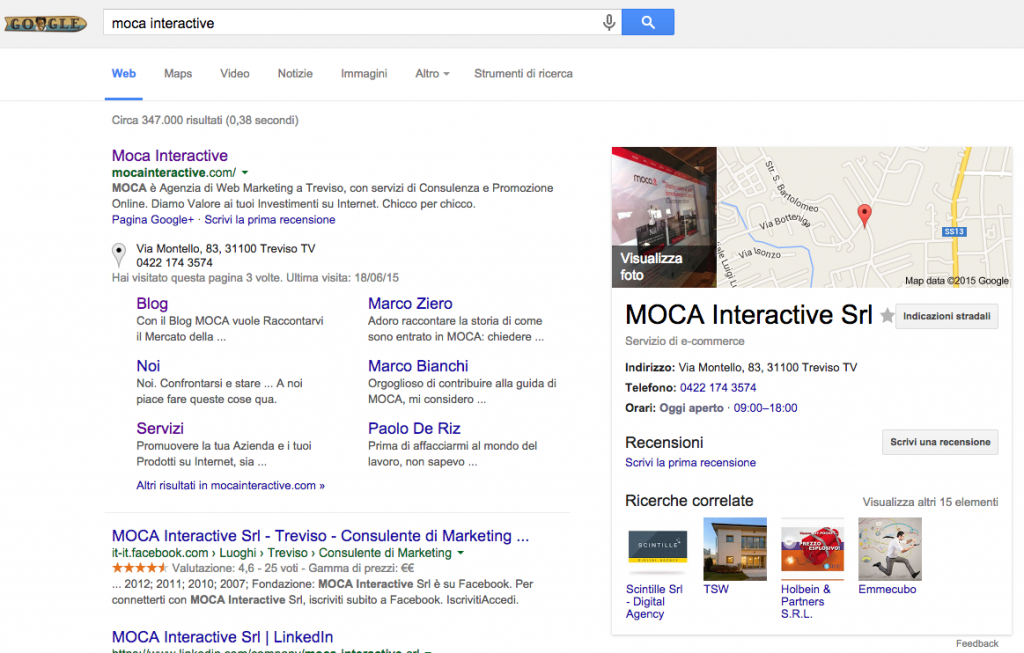 Moca Interactive Knowledge Graph