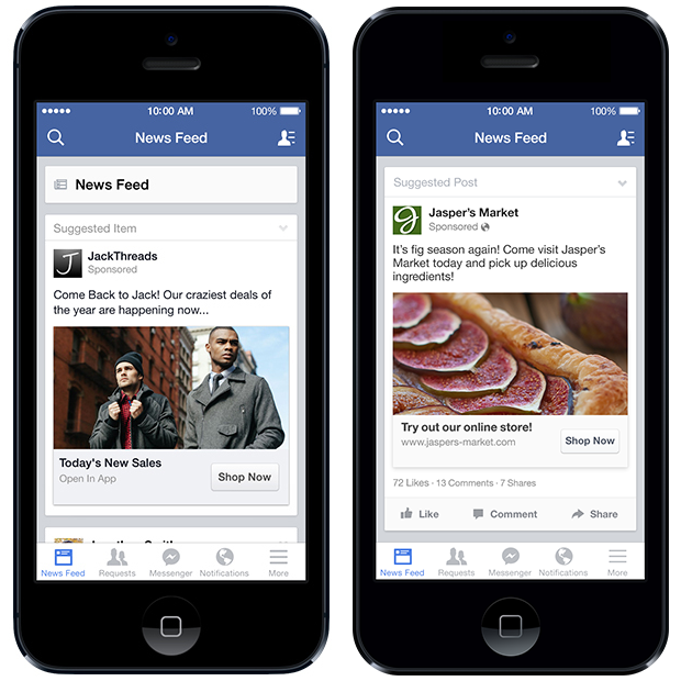 Remarketing su Facebook da Mobile