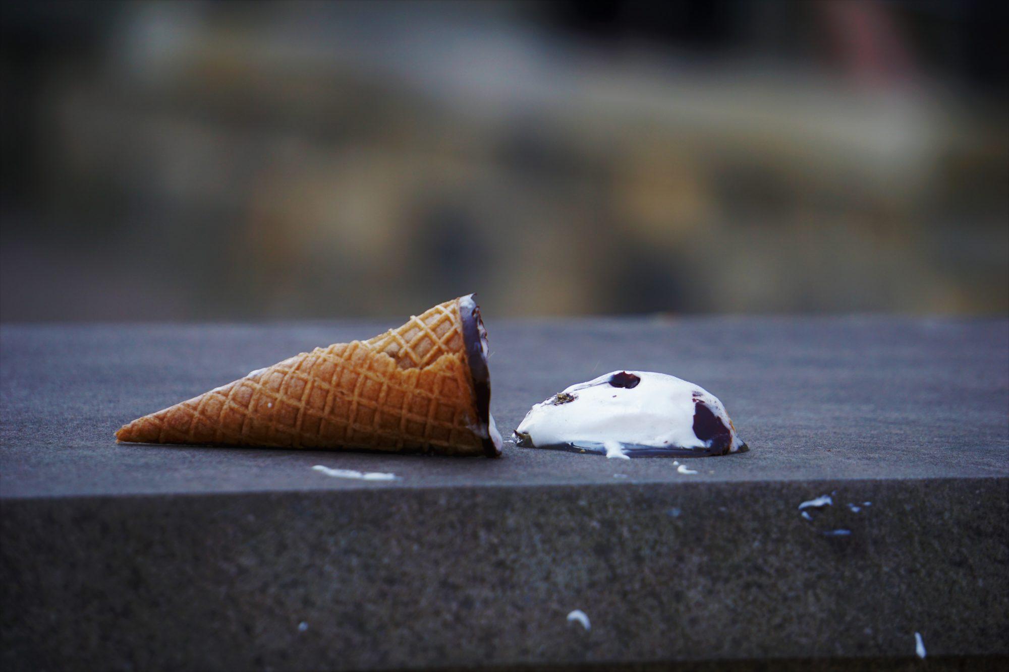 Fallen Ice Cream Sarah Kilian