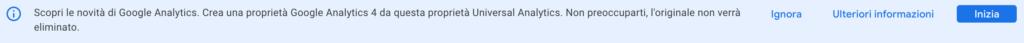 banner google analytics 4